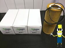 Premium Oil Filter for Porsche Cayenne w/ 3.0L Engine 2011-2015 Pack of 3