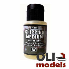 Acrylic CHIPPING MEDIUM Waterbased Chipping/Scratches 35ml Bottle  Vallejo 76550