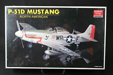 XJ002 ACADEMY1/32 maquette avion 1629 FA017 North American P-51D fighter Mustang