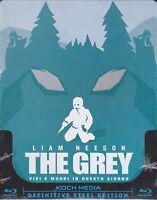 Blu-ray SteelBook **THE GREY** con Liam Neeson nuovo 2011