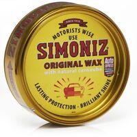 Simoniz Original Wax with Natural Carnauba Wax Hard Wax - 150g Tin