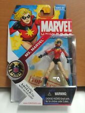 Marvel Universe 23 MS. MARVEL SHIELD FILE SECRET CODE 1:16 scale.