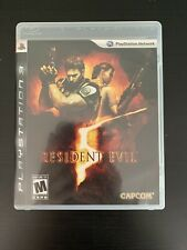 Resident Evil 5 PlayStation 3 PS3 Complete