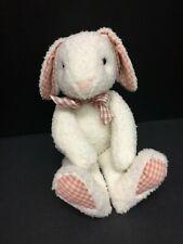 "Rugglie Pugglie Rabbit Plush Bunny 1989 13"" Vintage NABCO 1387"