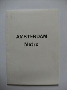 1980 Quail Map - Amsterdam Metro