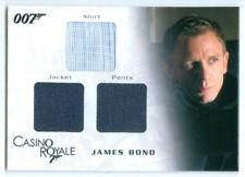 "DANIEL CRAIG ""JAMES BOND TRIPLE COSTUME CARD #TC01"" JAMES BOND IN MOTION"