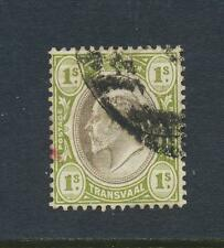 TRANSVAAL 1902, 1sh VF USED, SG#251 (SEE BELOW)