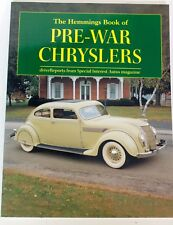 The Hemmings Book of Pre-War Chryslers (2002, Paperback)