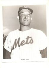1962 8x10 New York Mets team issue Sherman Jones