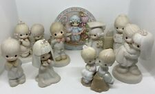 Vintage Precious Moments Figurine Lot 1980's 1990's Collection