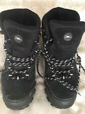 Black Hiking Walking BootsSize Adult 4