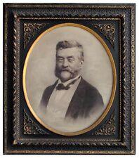photo ancienne Portrait homme par C. Brion fin XIXème