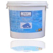 Komplettpflege Multitabs 5 in 1  / 5 kg - Chlor Kombi Pool Schwimmbad Fachhandel