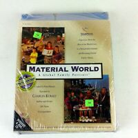 Material World Global Family Portrait Book and CD Set SEALED