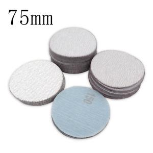 75mm 60-1200 Grit Dry Sanding Discs 3 Inch Hook and Loop Abrasive Sandpaper Pads
