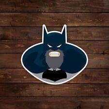 Bearded Batman Decal/Sticker