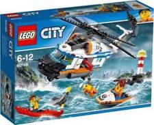 LEGO CITY ELICOTTERO DELLA GUARDIA COSTIERA 6-12 ANNI ART. 60166