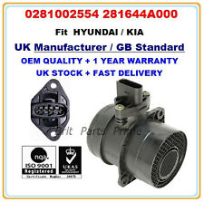 KIA SORENTO I (JC) 2.5 CRDi Mass Air Flow meter Sensor 0281002554 281644A000