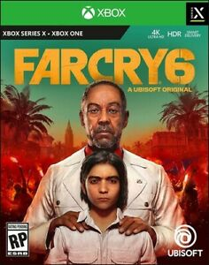 Far Cry 6 (Xbox Series X/Xbox One) BRAND NEW FACTORY SEALED SUPER FAST SHIPPING