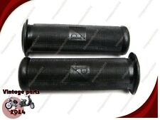 5X VESPA Rubber Hand Grips (Pair) 24mm Black