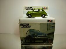 POLISTIL S599 FIAT 500L - GREEN METALLIC 1:25 - GOOD CONDITION IN BOX