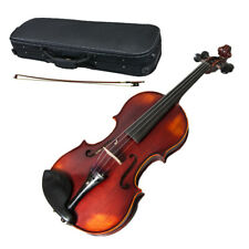 Professional Hand-made 4/4 Full Size Satin Acoustic Violin Antique SKYSBD300