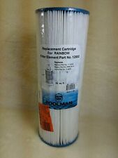 Poolman 12502 Replacement Cartridge for Rainbow Pool Filters, New, Free Shipping
