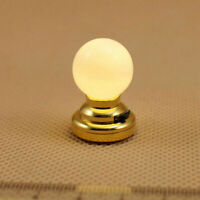 1:12 Dollhouse Battery-Operated Powered Mini LED Circular Lamp Ceiling L9S3