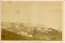 A Garcin, Suisse, Neufchâtel et les Alpes, ca.1870, vintage albumen print Vintag