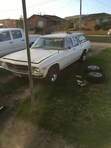1974 Holden HQ Belmont wagon Plus parts car
