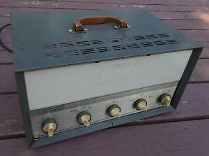 Bell BE-20 PA Tube Amp Amplifier 6V6GT 12AX7 6AV6- AS-IS - NEEDS RESTORATION