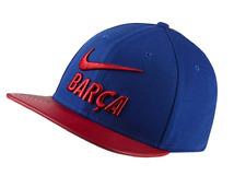 3ddb353d Nike Barcelona Soccer 2018 Pro Pride Adjustable Baseball Cap 916568-455