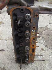Cockshutt 30 tractor original engine motor cylinder head B556 + valves