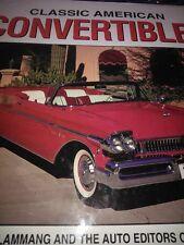 classic american CONVERTIBLES 1927/1995