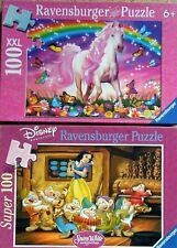 Ravensburger Puzzle, Kinderpuzzle,  100 Teile -Paket 2 x 100 Teile