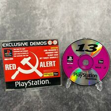 Official PlayStation PS1 Magazine Demo Disc 13 Vol 2 Red Alert Bloody Roar etc
