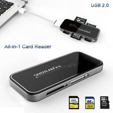 High Speed USB 2.0 All in 1 Multi Memory Card Reader for Micro SDHC SD/TF M2 MS