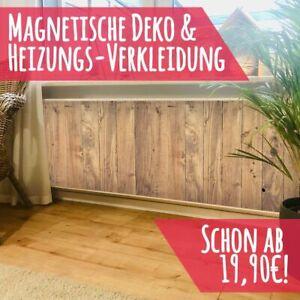 Magnet Heizkörperverkleidung Heizkörperabdeckung Heizung Schutz Motiv Holzplanke