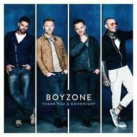 Boyzone - Thank You and Goodnight Album [CD] Gift Idea OFFICIAL STOCK UK