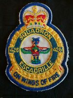 RCAF 426th Thunderbird Squadron Escadrille Royal Canadian Air Force Blazer Patch