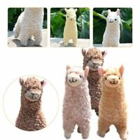 Baby Kids Alpaca Plush Toy 23CM Height Camel Cream Stuffed Dolls Gift Hot lskn