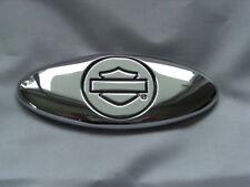 Harley Davidson B&S Medallion Emblem Oval Battery Box Suitcase Sissybar 91716-02