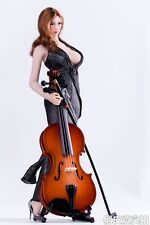 1/6 Figure Scene Accessories Cello Musical Instruments Model Without Girl Figure