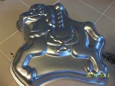 Wilton Cake Pan CAROUSEL HORSE 2105-6507 + Printable Instructions  EXC COND