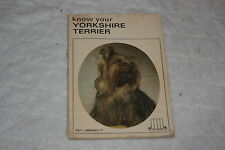 Know Your Yorkshire Terrier No. 526 by Pet Library Ltd. Staff (Paperback)