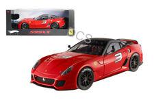 Hot Wheels Elite Edition Ferrari 599XX  #3 Red 1/43