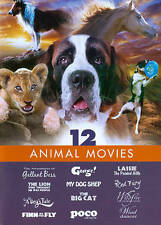 12 Animal Movies (3-Disc): A Dog's Tale / Christian The Lion & more ... :)