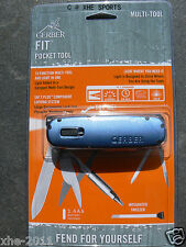Gerber Fit Light Tool - Blue 31-000731, for international (battery may be dead)