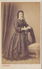 E. Boivin Photographe primitif au Mans cdv Vintage albumine ca 1865
