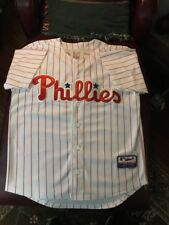 Philadelphia Phillies #3 Pence Baseball button up jersey sewn Mens Size 48 NWOT